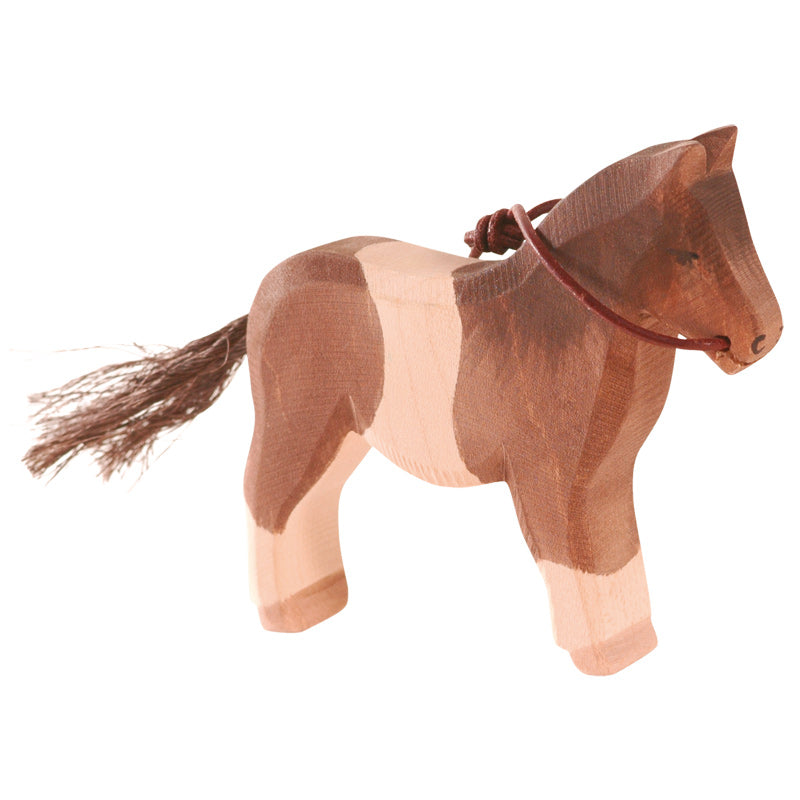 Pony - Brown & White