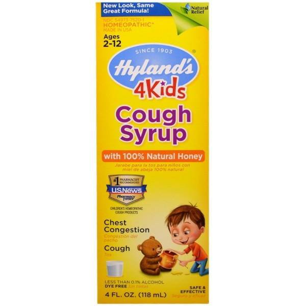 Hylands 4 Kids Cough Syrup