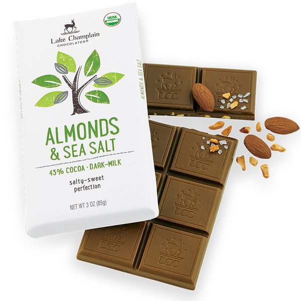 Chocolate Milk Sea Salt Almond Bar