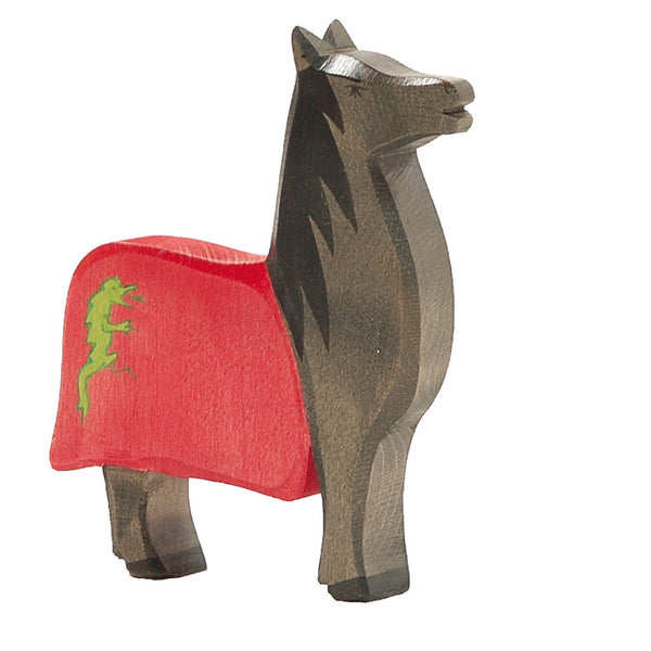 Horse for Black Knight,  Osthemier Wooden Toy (horse only)