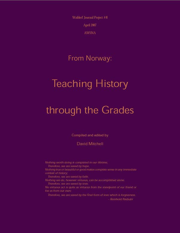 From Norway: Teaching History through the grades