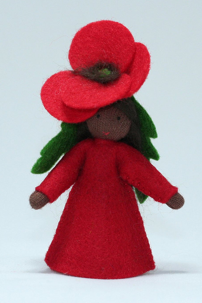 Red Poppy Fairy - dark skin