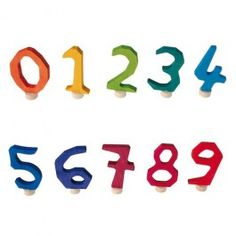 Anthroposophical Decorative Numbers