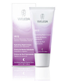 Weleda Iris Hydrating Night Cream, 1.0 fl oz