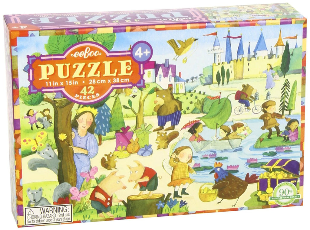 Puzzle, Mystery in the Forest