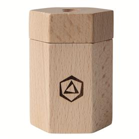 Wooden Dual Pencil Sharpener