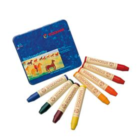 Stockmar Wax Stick Crayons Waldorf Assortment - 8 Assorted Colors