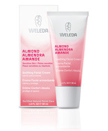 Weleda Almond Soothing Facial Cream, 1.0 fl oz