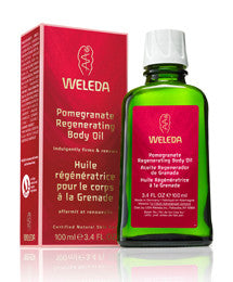 Weleda Pomegranate Body Oil, 3.4 Fl Oz
