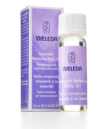 Weleda Lavender Relaxing Body Oil, 0.34 Fl Oz