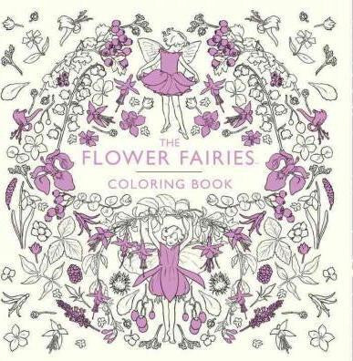 The Flower Fairies Coloring Book Warne