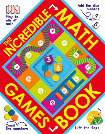 The Incredible Math Games Book by DK