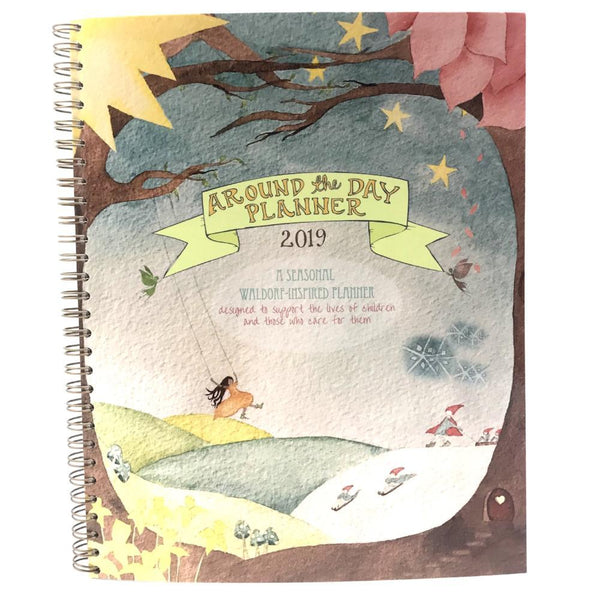 Around the Day 2019 Life Planner- Illustrated by Marna Widom
