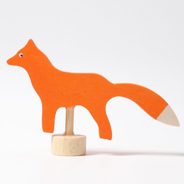 Birthday Ring Decorative Figure Fox