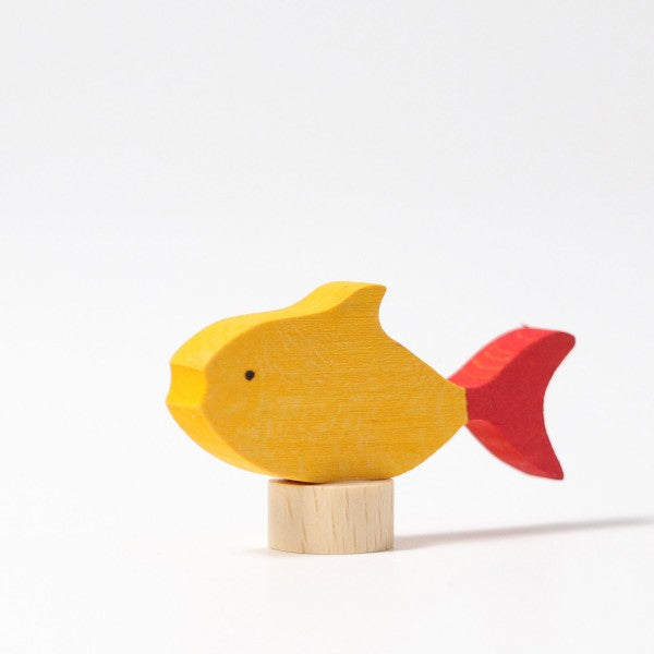 Birthday Ring Decorative Figure Fish