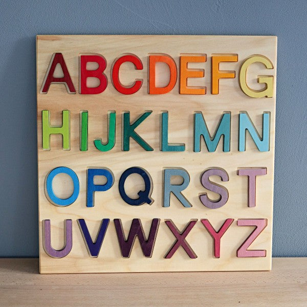 Wooden ABC Game