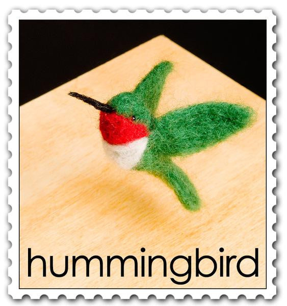 Needle Felting Kit: Hummingbird