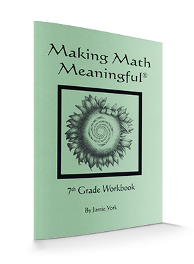 Making Math Meaningful: A 7th Grade Student's Workbook, by Jamie York