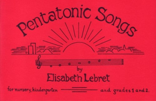 Pentatonic Songs, by Elisabeth Lebret