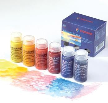Stockmar Paint, Box of 6 Assorted 20ml