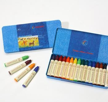Stockmar Beeswax Crayons - 16 Sticks