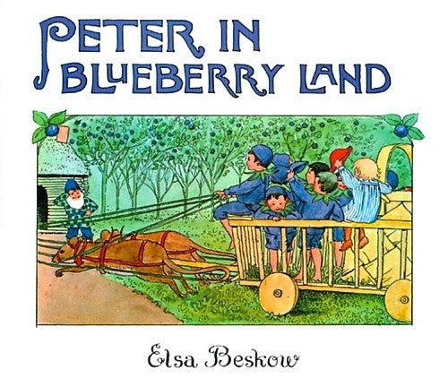Peter in Blueberry Land (Mini), by Elsa Beskow