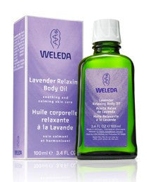 Weleda Lavender Body Oil 3.4 Fl Oz