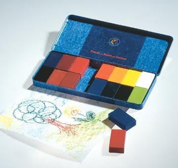 Stockmar Beeswax Crayons -  16 Blocks
