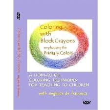 Coloring with Block Crayons DVD, by Sieglinde De Francesca