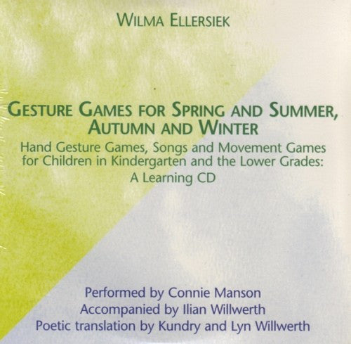 Gesture Games for Spring and Summer CD,  Autumn and Winter, by Wilma Ellersiek