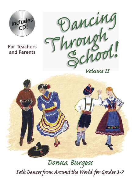 Dancing Through School Vol 2, by Donna Burgess