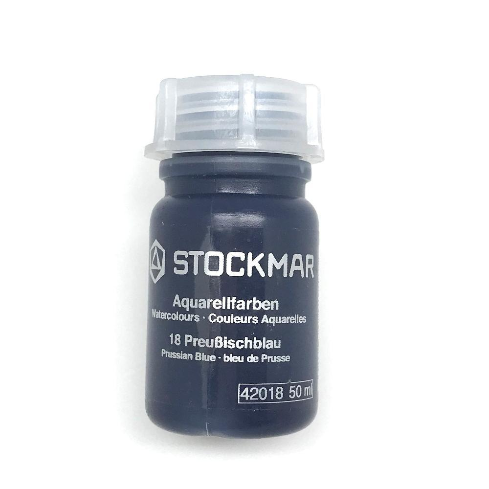 Stockmar Watercolour Paint Prussian Blue 50 ml/1.7 fl. oz.