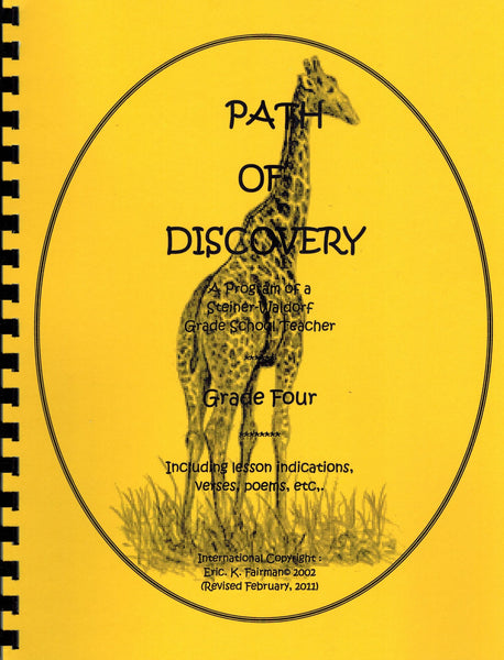 A Path of Discovery: Volume Four, Grade Four, by Eric K. Fairman