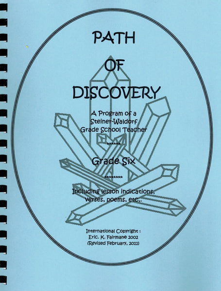 A Path of Discovery: Volume Six, Grade Six, by Eric K. Fairman