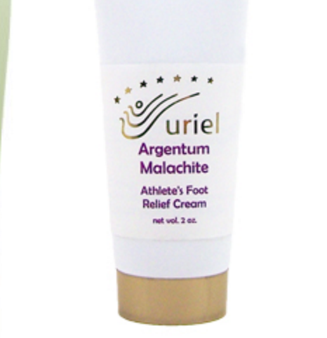 Uriel Argentum Malachite Athlete's Foot Relief Cream