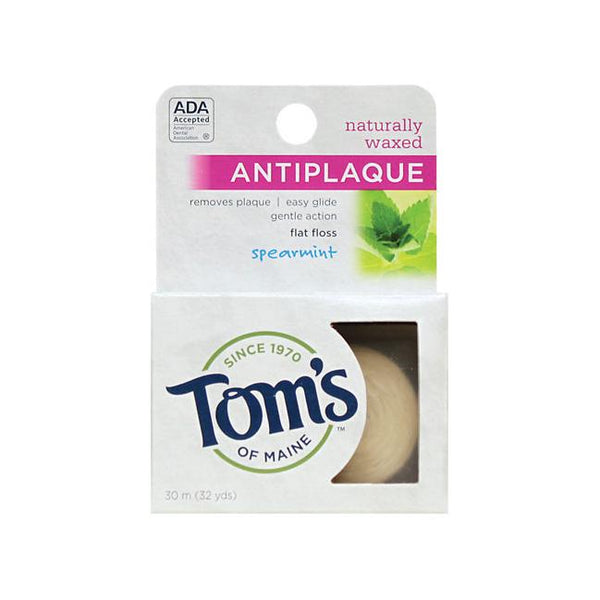 Tom's of Maine Flat Floss- Spearmint
