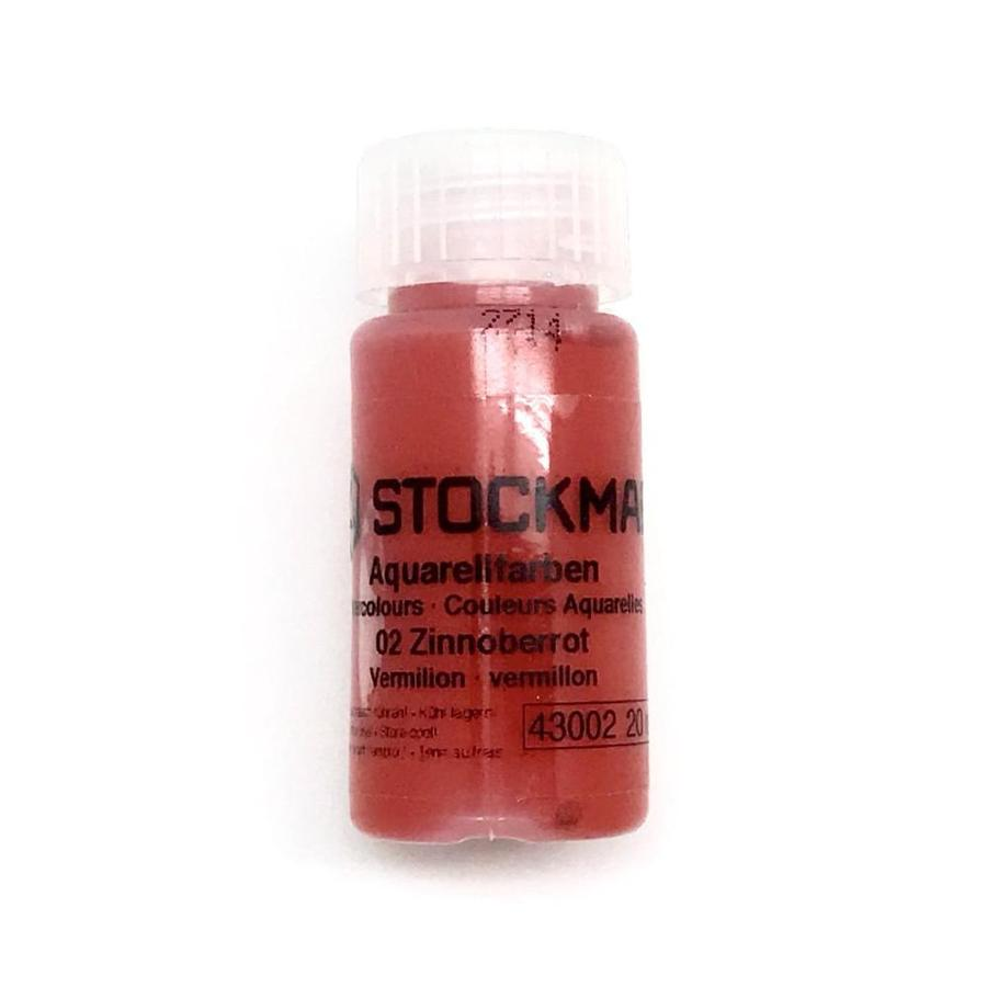 Stockmar Watercolor Paint 20ml Vermillion (Zinnoberrot)