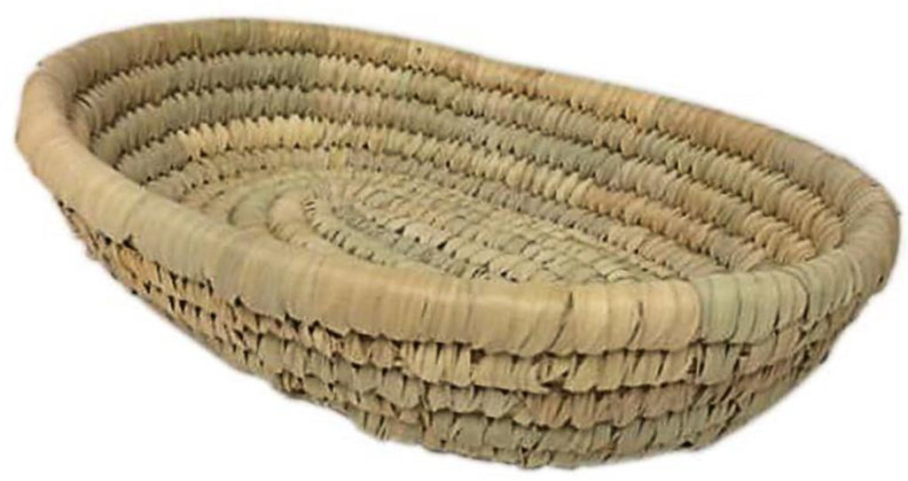 Organic Palm Frond Basket Small