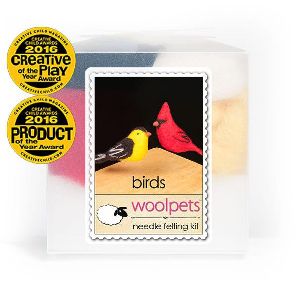 Felting Kit, Birds