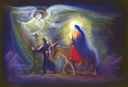Greeting Cards Set of 10- Flight to Egypt