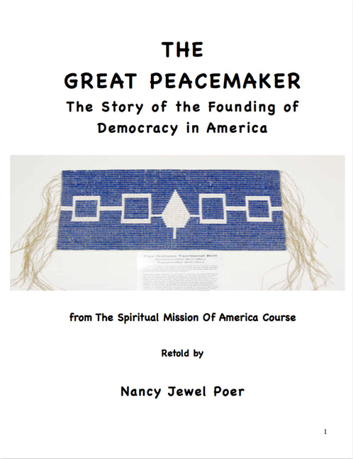 Great Peacemaker, by Nancy Jewel Poer