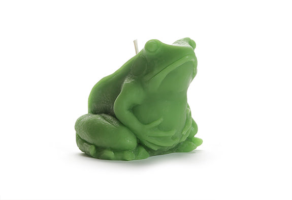 Frog Candle - 100% Beeswax