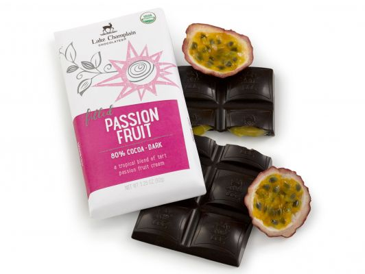 80% Cocoa Dark Filled Passion Fruit