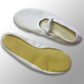 Children's Eurythmy Shoes- White
