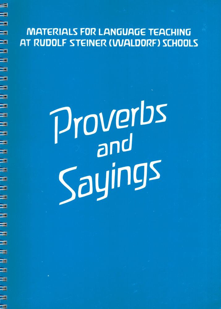 Proverbs and Sayings: Materials for Language Teaching