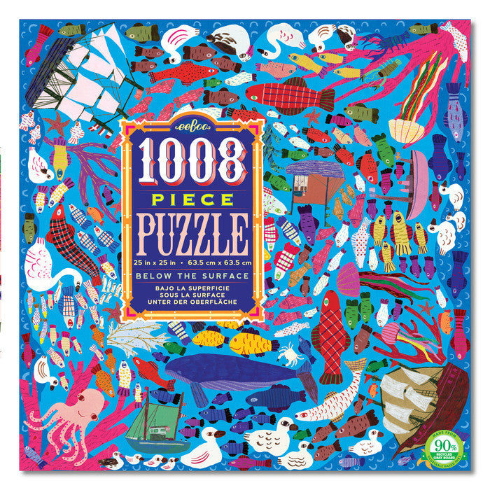 Below the Surface 1008 Piece Puzzle