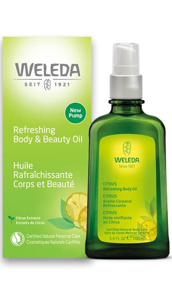 Weleda Citrus Refreshing Body Oil