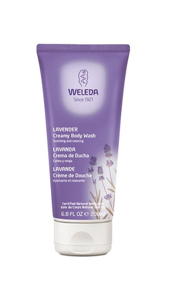 Weleda Lavender Creamy Body Wash 6.8 Fl Oz/200 ml