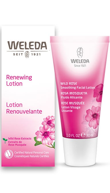 Weleda Wild Rose Smoothing Facial Lotion, 1.0 fl oz