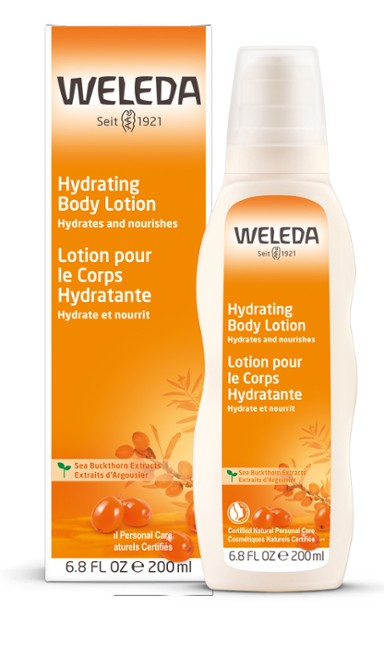 Weleda Sea Buckthorn Hydrating Body Lotion 6.8 FL OZ